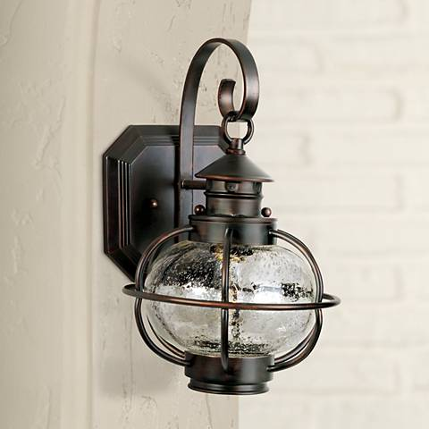 "Nautington 13"" High Outdoor Wall Lantern"