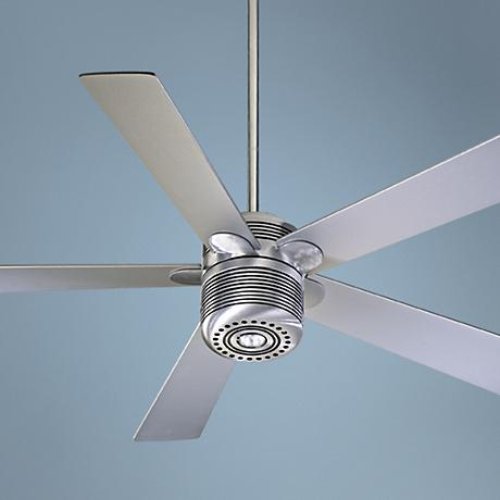 "52"" Quorum Telstar Contemporary Ceiling Fan with Light Kit"