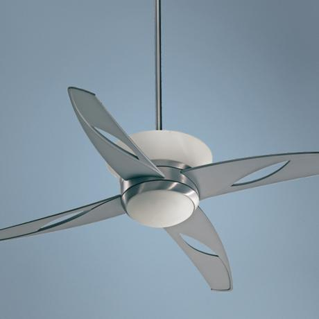 "52"" Quorum Astra Dual Light Kit Contemporary Ceiling Fan"