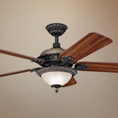 "52"" Kichler Roxton Colton Bronze Ceiling Fan"