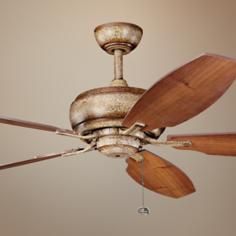 "60"" Kichler Whitmore Canyon Stone Ceiling Fan"