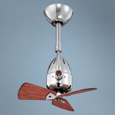 "16"" Matthews Diane Polished Chrome Directional Ceiling Fan"
