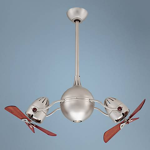 "39"" Matthews Dagny Bronze Double Headed Ceiling Fan"