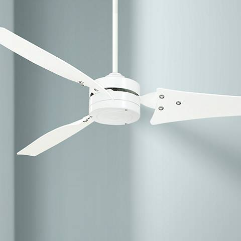 "60"" Emerson Loft White Ceiling Fan"