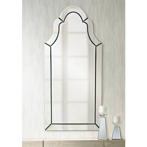 "Uttermost Hovan 44"" High Wall Mirror"