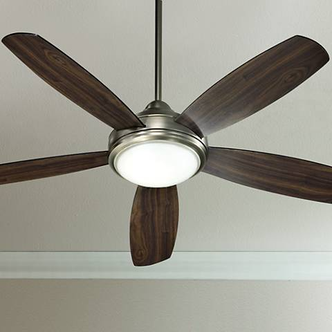 "Antique Silver Finish Colton 52"" Ceiling Fan"