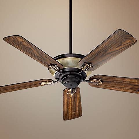 "52"" Quorum Roderick Toasted Sienna Finish Ceiling Fan"