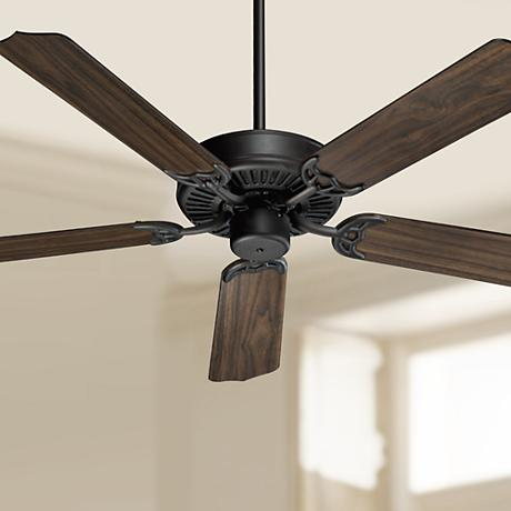 "52"" Quorum Capri Oiled Bronze ENERGY STAR Ceiling Fan"