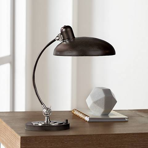 Robert Abbey Bruno Bronze Pharmacy Desk Lamp