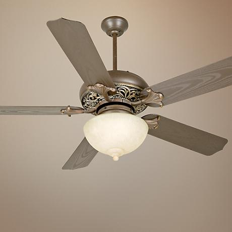 "52"" Craftmade Outdoor Mia Aged Bronze Finish Ceiling Fan"