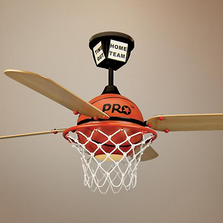 "52"" Craftmade Pro Star Basketball Ceiling Fan"