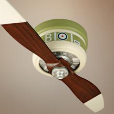 "42"" Craftmade Sopwith Camel Warplane Hugger Ceiling Fan"