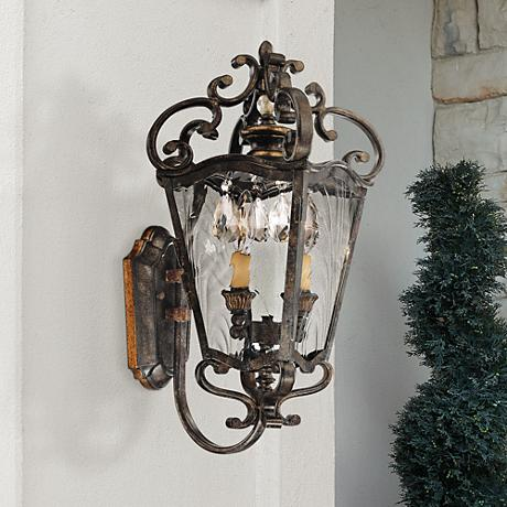 "Metropolitan Collection 20 3/4"" High Outdoor Wall Lantern"