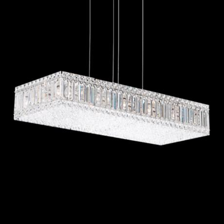 "Schonbek Quantum Collection 29 1/2"" Wide Crystal Pendant"