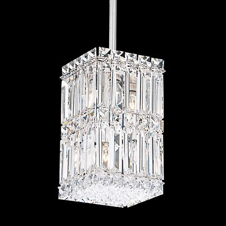"Schonbek Quantum Collection 5 1/2"" Wide Crystal Mini Pendant"