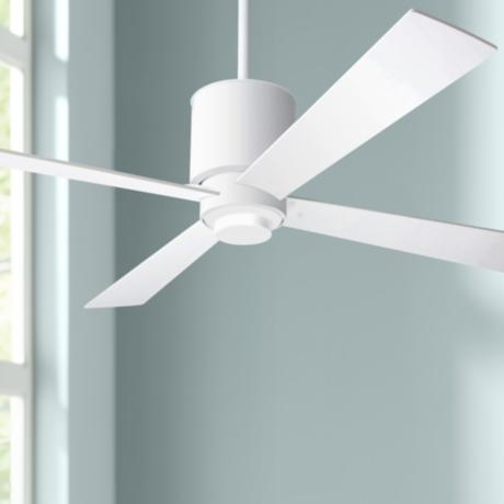 "52"" Lapa Gloss White Ceiling Fan"