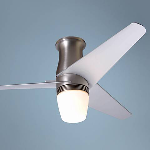 42 Quot Modern Fan Altus Hugger Gloss White Ceiling Fan