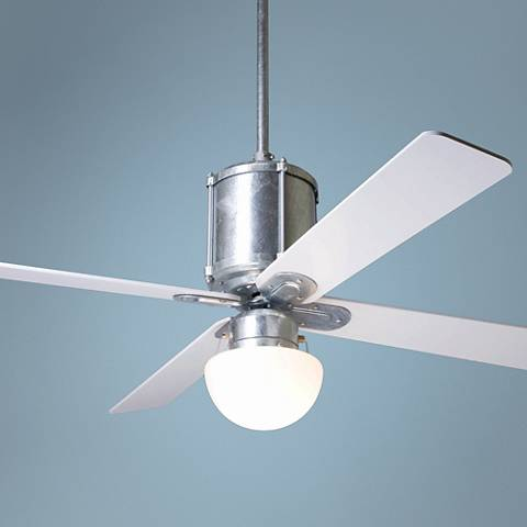 "50"" Modern Fan Industry Galvanized with Light Ceiling Fan"
