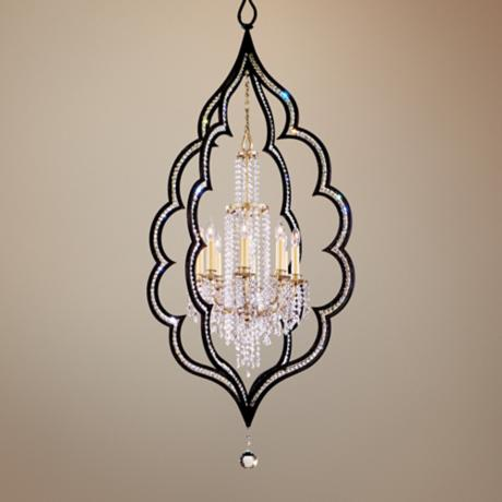 "Bijoux Crystal 26 1/2"" Wide 8-Light Chandelier"