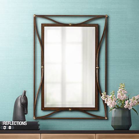 "Thierry 38"" High Wall Mirror"