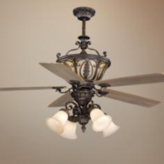 "56"" Vaxcel Dynasty Forum Patina Ceiling Fan"