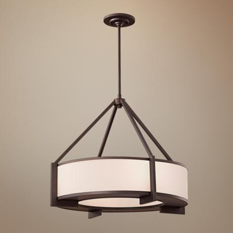 "Murray Feiss Stelle Collection 25"" Wide Pendant Light"