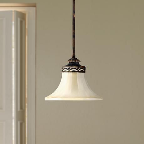 "Feiss Drawing Room Collection 9"" Wide Mini Pendant Light"