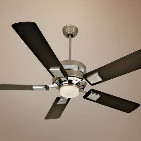 "52"" Craftmade 5th Avenue Brushed Nickel Ceiling Fan"
