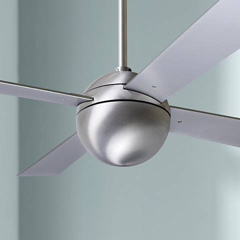 "42"" Modern Fan Aluminum Finish Ball Ceiling Fan"