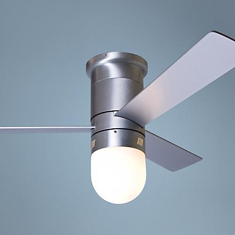 "42"" Cirrus Aluminum Finish Light Hugger Ceiling Fan"