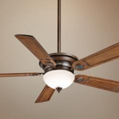 "54"" Casablanca Whitman Walnut Blades Cocoa Ceiling Fan"
