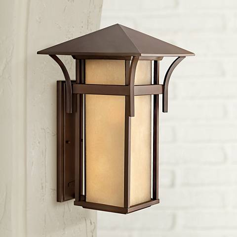 "Hinkley Harbor Collection Bronze 20 1/2"" High Outdoor Light"