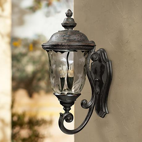 "Carriage House Collection 26 1/2"" High Outdoor Wall Light"