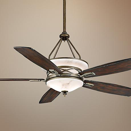 "68"" Casablanca Atria Aged Bronze Outdoor Ceiling Fan"