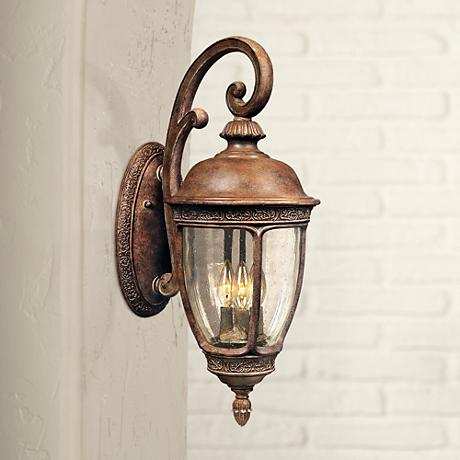 "Knob Hill Collection 19 1/2"" High Outdoor Wall Light"