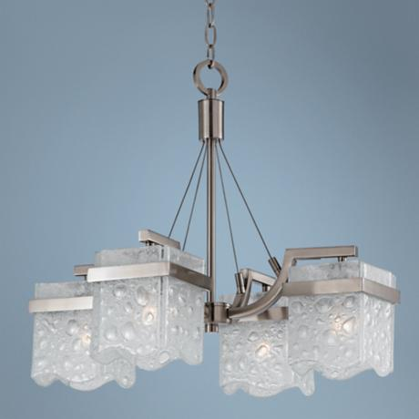 "Glacier Collection 21"" Wide Chandelier"