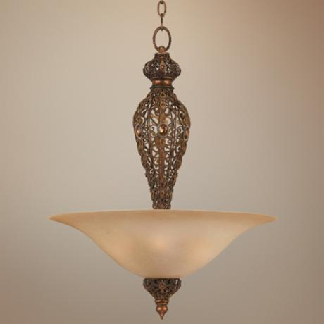 Crown Jewel Bowl Pendant Chandelier