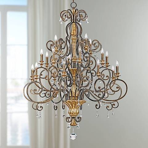 "Marquette Collection 48 1/2"" Wide 20-Light Chandelier"