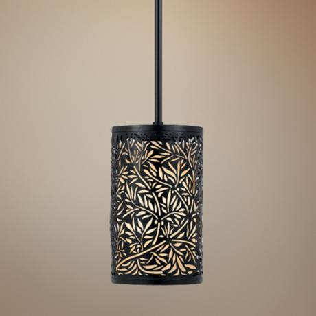 Utopia Rod Hung Mini Pendant Chandelier