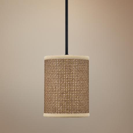 Zen Rod Hung Mini Pendant Chandelier