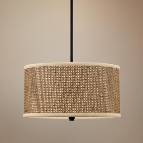 Zen Rod Hung 3-Light Pendant Chandelier
