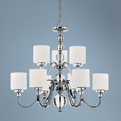 "Downtown Collection 9 Light 36"" Wide Chandelier"