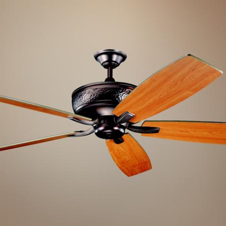 "70"" Kichler Monarch Oil-Rubbed Bronze Ceiling Fan"