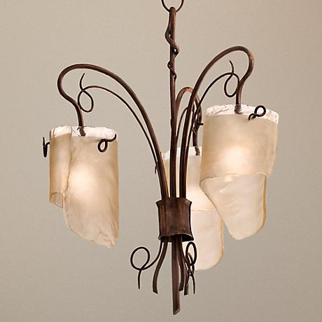"Varaluz Soho Collection 25 1/2"" Wide Chandelier"