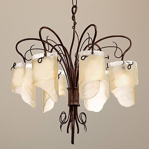 "Varaluz Soho Collection 28 1/2"" Wide Chandelier"