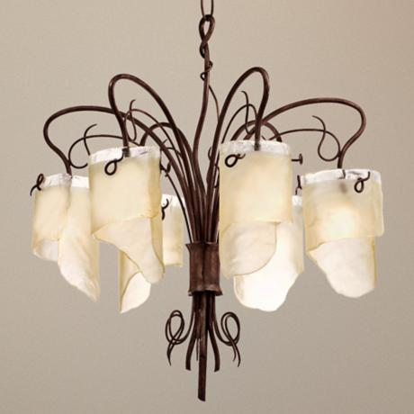 "Varaluz Soho Collection 32"" Wide Chandelier"
