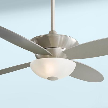 "52"" Minka Aire Zen Brushed Nickel Energy Star Ceiling Fan"