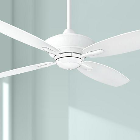 "52"" Minka Aire New Era Energy Star White Ceiling Fan"