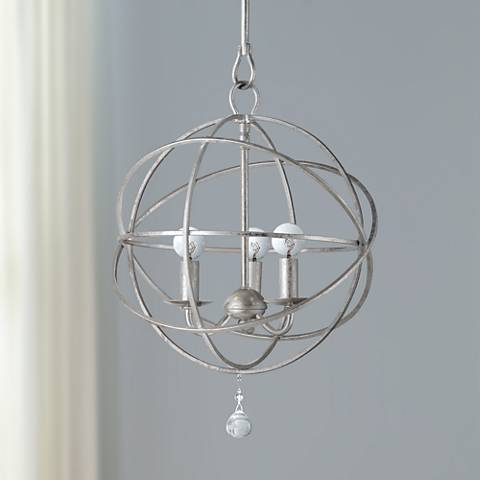 Solaris Collection 3-Light Modern Pendant Light