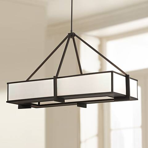 Feiss Stelle Collection Rectangle Pendant Light